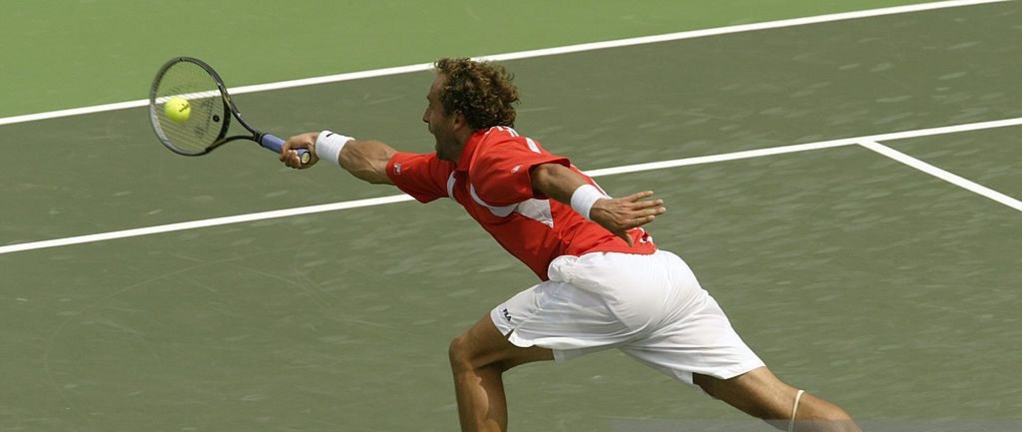 NICOLAS THOMANN TENNIS in BASEL